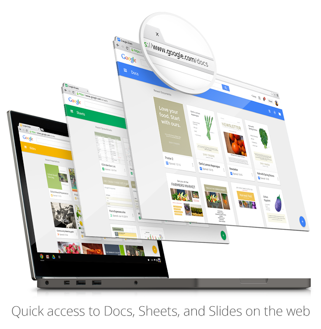 Google Docs, Sheets And Slides Get New Home Screens With A Taste Of Material Design