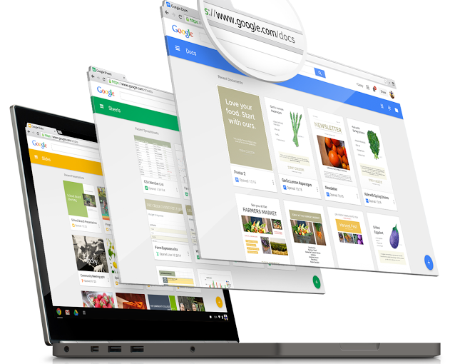 Google Docs, Sheets And Slides Get New Home Screens With A Taste Of MaterialDesign