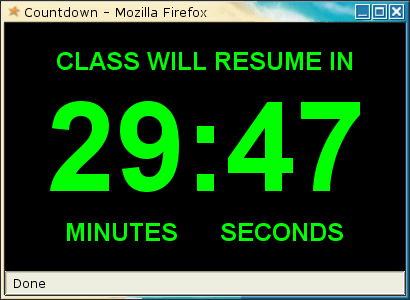 Countdown Timers download |SourceForge.net